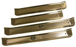 1965-1970 Chevy Olds Buick Pontiac 4 Door And Station Wagon Door Sill Plate Set