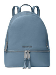 MICHAEL Michael Kors Rhea Zip Medium Backpack  Denim