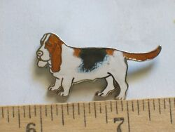 Basset Hound Pin Dog Lapel Pin Colors vary Ex Large BH