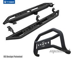 Tyger Armor And Bumper Guard Combo Fit 2005-2021 Toyota Tacoma Access Cab