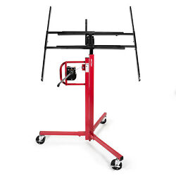 Drywall Panel Lifter Lift Jack Hanging Hoist - 11and039 Red