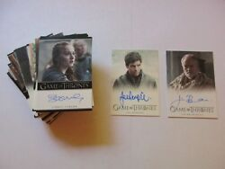 Game Of Thrones Season 7 Complete Master Set No Parallels - Full Series Seven