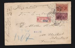 Us 239 And 236 On Registered Fx-ny1 Cover W/ Worldand039s Fair Expo Cancels Fine