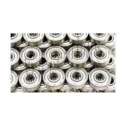 100 Bearings Electric Motor Quality 608zz 8x22x7mm Chrome Steel With Steel Cage