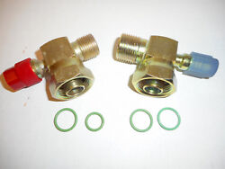 York/tecumseh Tube O Ring A/c Compressor Fittings W/134a Port 8 And 10 O Rings