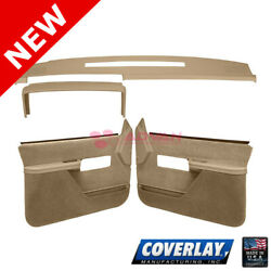 Neutral Interior Accs. Kit 18-606c37f-ntl For C1500 Pickup Front Lf Rt -coverlay