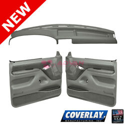 Med Gray Interior Accs. Kit 12-115c92f-mgr For Bronco Front Left Right -coverlay