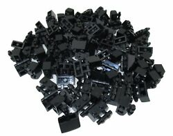 LEGO Black Brick Modified 1x2 with Handle Lot of 100 Parts Pieces 30236