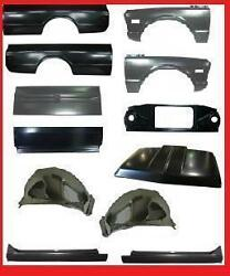BODY KIT GM TRUCK BED FENDER RADIATOR SUPPORT ROCKER TAIL GATE TAILGATE 69-72