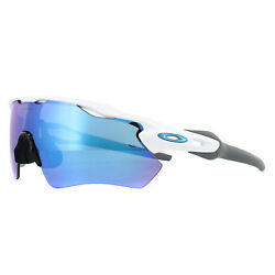 Oakley Sunglasses Radar EV Path OO9208 73 Polished White Prizm Sapphire $168.00