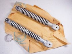 63-68 Honda Ct200 Ct90 Trail 90 Ca200 C200 Nos Front Shock Cushion Absorber Set