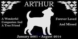 Personalized Jack Russell Terrier Dog Pet Memorial 12