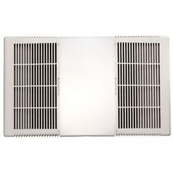 NuTone 665RP 70 CFM Bathroom Exhaust Fan with Heater and Incandescent Light