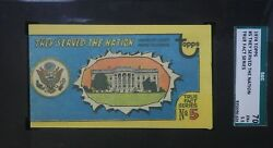 1974 Topps True Fact Series 5 They Served The Nation Sgc 70 Ex+ 5.5 Scarce