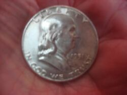 1951 Franklin Half Early And Nice ..priced To Move Too
