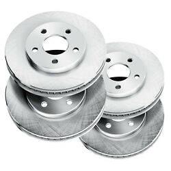 Brake Rotors [2 Front + 2 Rear] *OE FACTORY REPLACEMENT* DISC BK10513