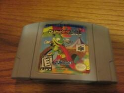 N64 Chameleon Twist 2 (Nintendo 64) Cartridge only Free Shipping