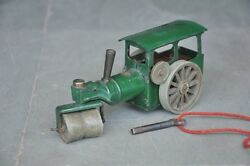 Vintage Minic Toys Litho Tin Road Roller Wind Up Toy , England