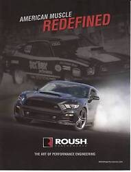 2017 Roush American Muscle Redefined Dealer Original Card From 2017