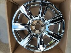 20 Nw Chrome Oem Factory Bentley Flying Spur Continental Gt Gtc Mulliner 1wheel