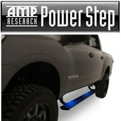 Amp Power Side Step Running Board W/plug And Play Install For 16-17 Nissan Titan