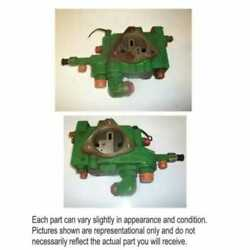 Used Inlet Priority Valve Compatible With John Deere 7810 7410 7210 7610 7710