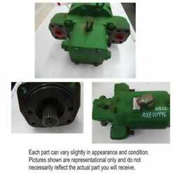 Used Hydrostatic Drive Motor Compatible With John Deere 9770 Sts 9670 Sts