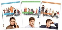 Arrested Development Complete Series Season 1-3 1 2 And 3 New Dvd Sets