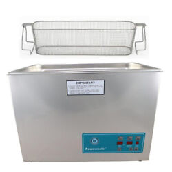 Crest P1800d-45 Ultrasonic Cleaner W/ Power Control-perf Basket
