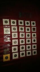 1913 Indian Head Nickel Collection Of 33 Nickels