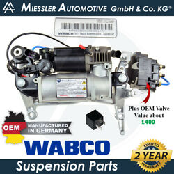 Porsche Cayenne 955/9pa Oem New Air Suspension Compressor And Solenoid 95535890105