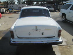Rolls Royce Silver Shadow II 1980 Rear Trunk Lid