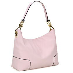 Dasein Women Strip Style Handbag Satchel Shoulder Bag w Corner Patched Hobo $33.99