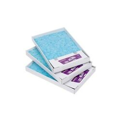 Scoopfreeandtrade Replacement Blue Crystal Litter Tray - 3 Pack