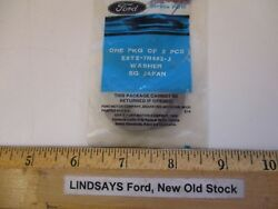 2 Unopened Oem Pieces Ford Washer Part E8tz7r482-j Nos Free Shipping