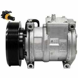 Air Conditioning Compressor - Denso Compatible With John Deere 300 850 1010 250
