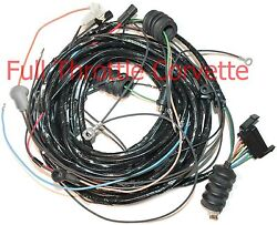 1971 Corvette Wiring Harness Rear Lamp Body Without Alarm Us Reproduction C3 New