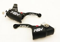 ASV Unbreakable F4 Black Shorty Clutch Brake Levers Dust Covers Hot WR 96-00