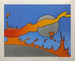 Peter Max Close To The Sun 1978 | Signed Serigraph | Pop Art | Make An Offer
