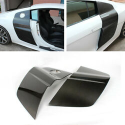 Carbon Fiber Auto Door Fenders Side Blade Skirts Fit For Audi R8 08-15 Factory