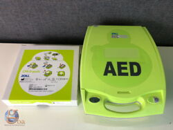 Zoll Aed Plus Defib W/ New Cpr-d-padz And Batteries