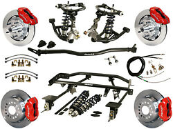 RIDETECH COILOVER & 4-LINK SYSTEM & WILWOOD DISC BRAKE KIT,12