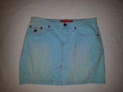 MOSSIMO JUNIOR'S PALE BLUE JEAN SKIRT SIZE 7 VERY NICE! (C)