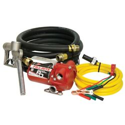 12v Dc Portable Pump With Hose And Nozzle Filrd812nh Brand New