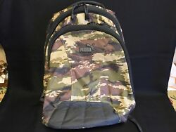 Puma Camouflage Backpack Men's Excellent Condition