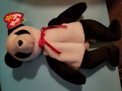 Rare 1st Edition Fortune Ty Beanie Baby Mint Condition Swing Tag Errors