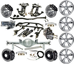 Ridetech Coilover4-linkcurrie Rear End17 Wheelswilwood 13 Disc Brakesblk