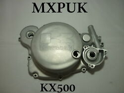 KX500 CLUTCH COVER GENUINE KAWASAKI 14032-1245 KX 500 1988 to 2004 MXPUK (090)