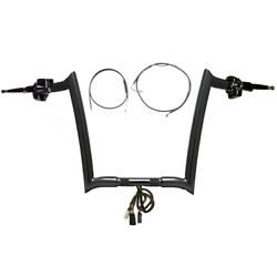 Paul Yaffe Bblack 14 Monkey Bar Ckit 2008-2013 Harley Road Glide Nocruise W/abs