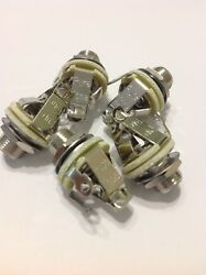 5 Pack Pure Tone Multi Contact Mono 1/4 Output Jack Ptt1 W/ Mounting Hardware